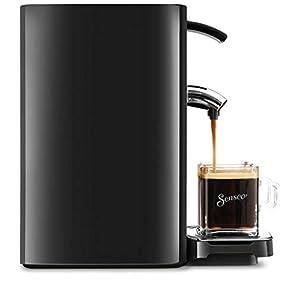Philips HD7865/60 Senseo Quadrante Kaffeepadmaschine, Edelstahl, 1.2 Unknown_Modifier, Schwarz