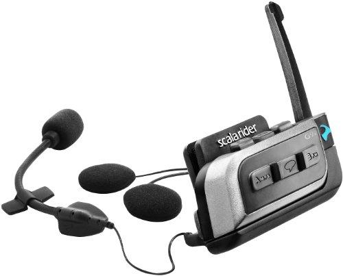 Cardo Systems Inc G9x (Single) Scala Rider Communication Head Set Accessories - Black by scala rider