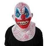Maschera di Halloween Scared Party Tool Halloween Cosplay Terror Wizard Maschera da Clown Haunted House Room Fuga Dress Up Live Show Mask