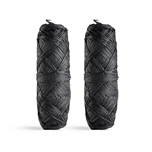 Georganics - Ricarica da 60 m di filo interdentale al carbone naturale -Alla menta inglese