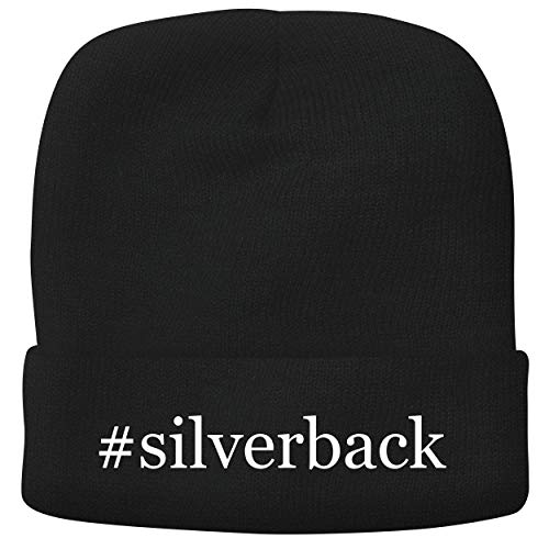 BH Cool Designs #Silverback - Adult Hashtag Comfortable Fleece Lined Beanie, Black