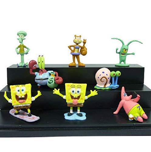 N/ Spongebob All Characters Fish Tank Kids Decoration Aquarium Ornament