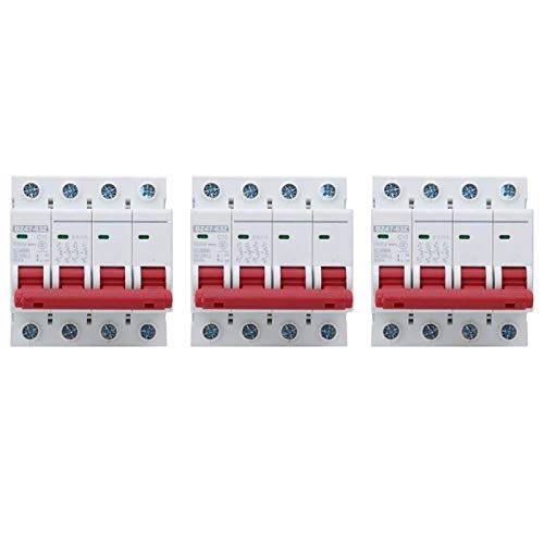 Disjuntor, MCB de resistência de alta temperatura, Resistência de desgaste para sistema de geração de energia de pequeno porte da indústria(10A)