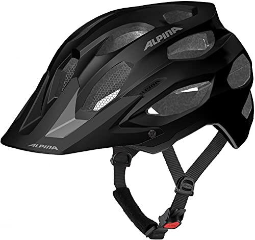 ALPINA Carapax 2.0 Fahrradhelm (Größe: 52-57 cm, 35 Black/Grey matt)