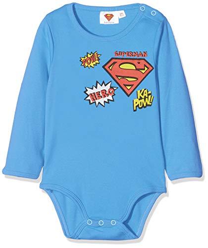 Superman 2538 Body, Azul (Bleu Bleu), 2 años (Talla del fabricante: 24 meses) para Bebés