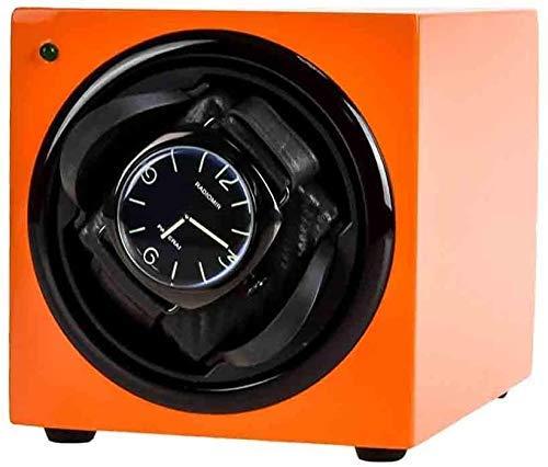 WBJLG Caja enrolladora de Reloj Caja enrolladora automática de Relojes Relojes Caja enrolladora automática de Reloj Caja de exhibición de Almacenamiento Organizador de Caja enrollador de Reloj Ind