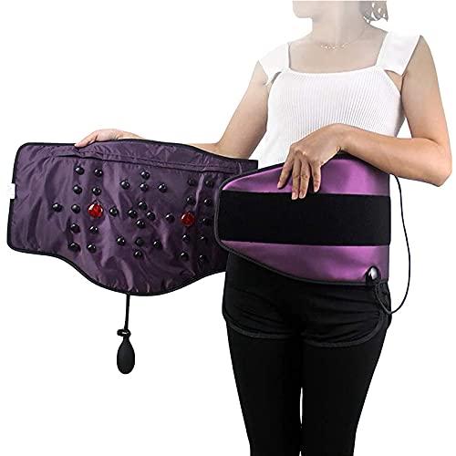 Guhih Slimming Belt Heated Vibration Care Belt Sauna Heater Electric Massage, Home Massage Belt Ladies Body Shaping Training Belt