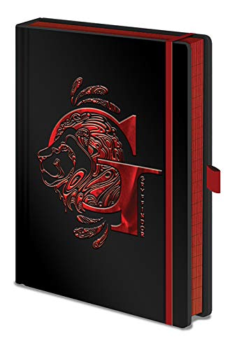 Harry Potter - Notebook Premium Gryffindor Foil