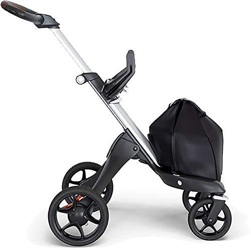 Stokke® Châssis Xplory V6 accessoires pour poussette, argenté/marron