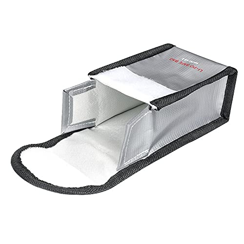 HUANRUOBAIHUO Sac de Rangement de la Batterie Portable Case Portable Sac d'explosion pour DJI Mavic Air 2 / Mavic Air 2S Drone Accessoires Quadrocopter Zubehör (Color : 1 Pocket)