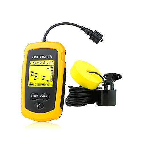 Detect & Display in Lakes, Rivers and Seas Ice Fishing Fish Finders