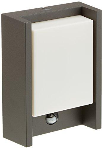 Philips myGarden LED Wandaussenleuchte Arbour 1-flammig, Bewegungsmelder Aluminium 6 W Grau 164619316