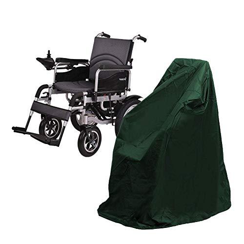 Morningtime Rollstuhl Schutz Regenschutz Elektro Rollstuhl Staubschutz wasserdichte Schutzhülle Winddicht und UV-beständig Allrad Roller Staubschutz