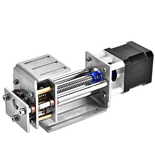 Z-Achsen Schlitten - BiuZi 1Pc T 8-Z60 12V 60MM Hub DIY Fräsen Linearschlitten Edelstahl CNC Z-Achsen Lineare Führungsschiene für die Holzbearbeitung CNC-Graviermaschine