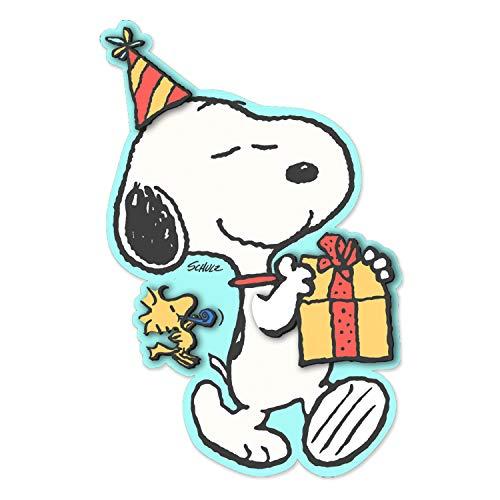 Hallmark Signature Peanuts Geburtstagskarte (Snoopy, Happiness)