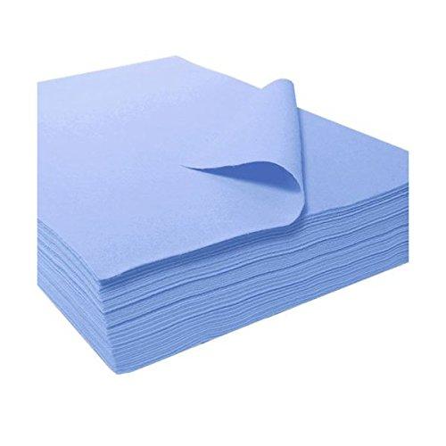 """Acrylic Felt Sheet 9"""" X 12"""": 25 PCS, Light Blue"""