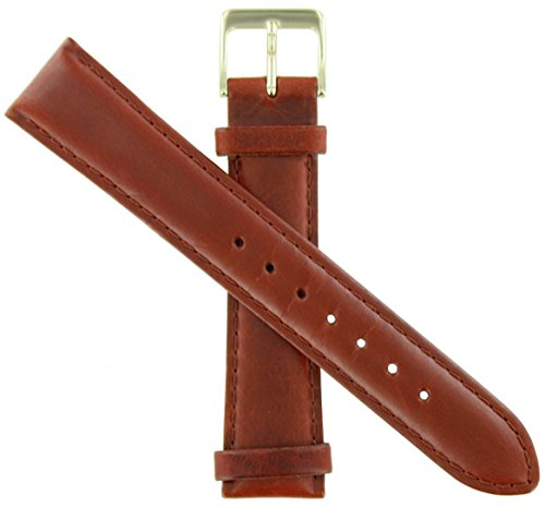 WBHQ 18mm Red Brown 534 Classic Oilskin Watch Band
