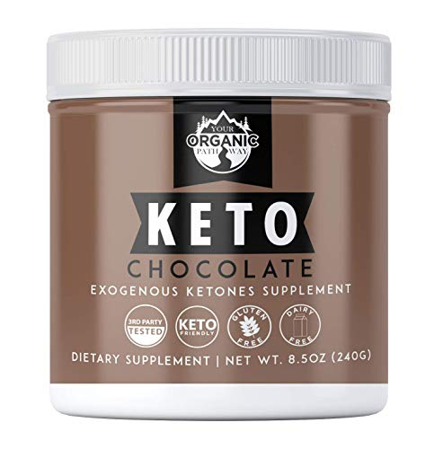 Your Organic Pathway Exogenous Ketones: Base BHB Salts Supplement, Keto Chocolate Powder for Keto Diet, Weight Loss & Energy Support- Beta-Hydroxybutyrate for Ketosis & Ketone Boost