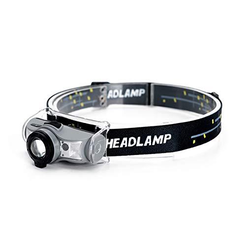 JSJJAET Lámpara de Cabeza Lugar Lugar LED Faro Recargable LED Faro de carnicería Sensor de Movimiento Cabeza Linterna Luz portátil para la Pesca headlamp