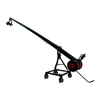 Battle Tested Film Gear 954-KITE-22-SUPERB Proaim Package 22-Feet Telescopic Camera Crane Jib with Stand, Gold Pan and Tilt Head and HD Video Camera Dolly (Black) (B00D3HAUCU) | Amazon price tracker / tracking, Amazon price history charts, Amazon price watches, Amazon price drop alerts
