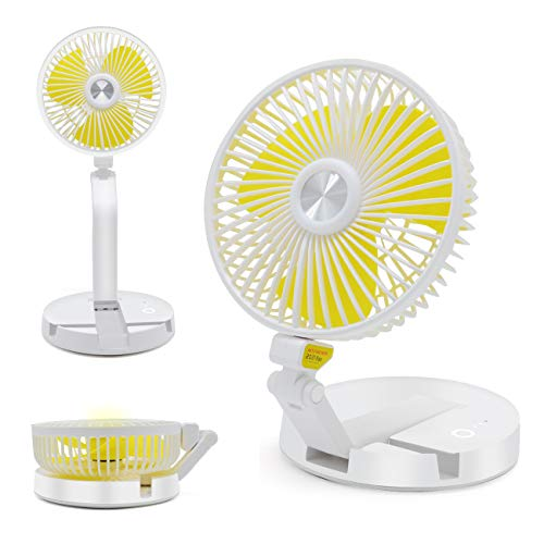 $10.54 Portable Table and Desk Fan Add lightning deal price and use promo code: TVDIEX3C Works on white option