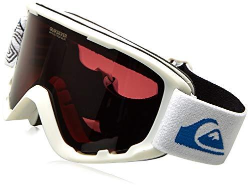 Quiksilver Sherpa Goggles Ski Snowboard Outdoor Snow Sports Winter Anti Fog UV Protection (Snow White)