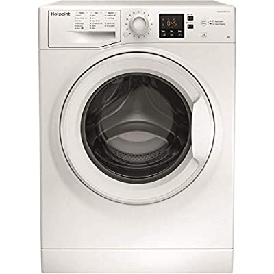 HOTPOINT NSWM843CW 8kg 1400rpm Freestanding Washing Machine - White