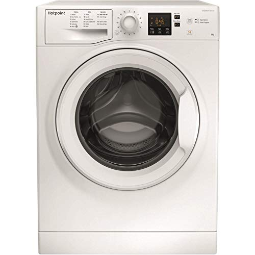 Hotpoint NSWM843CWUKN NSWM843CW 8kg 1400rpm Freestanding Washing Machine - White