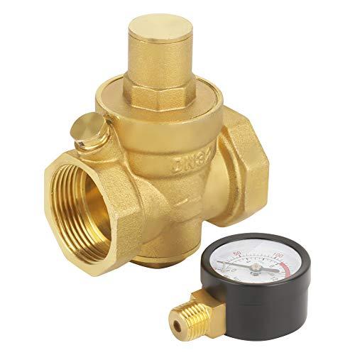 Regulador de presión de agua, válvula reductora de presión, DN32 para el hogar