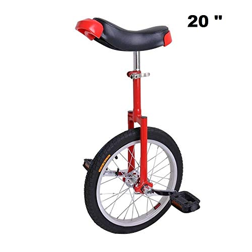 Great Features Of Awesome 20 inches Bicycle Bike Wheel Scooter Circus Gift Fitness (Red)
