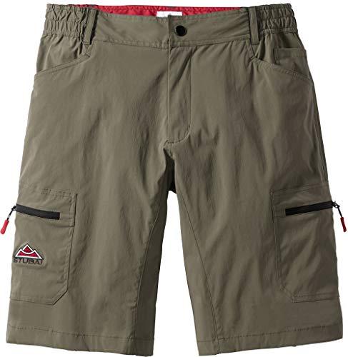 Stubai Herren Funktionsshorts in Khaki, sportliche Shorts für Männer, Kurze Outdoor-Hose, Bermuda, Freizeithose, Herrenbekleidung, Gr. 48-60