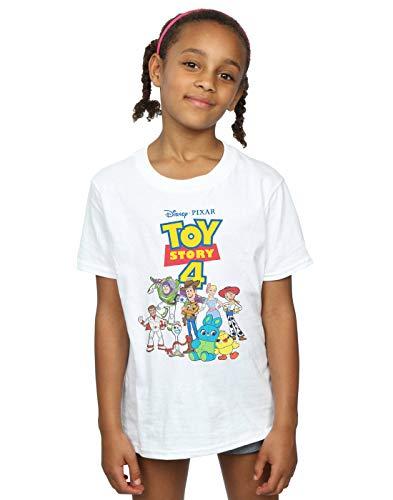 Disney Niñas Toy Story 4 Crew Camiseta...