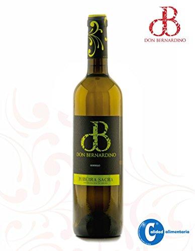 Vino Blanco Albariño Godello Treixadura Don Bernardino D.O. Ribeira Sacra 75cl (Estuche 3 botellas)