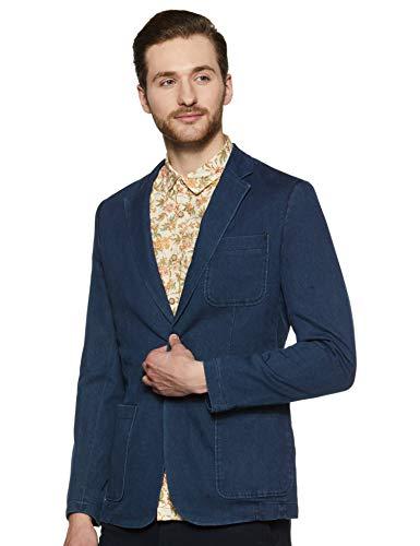 Jack & Jones Men's Notch Lapel Regular Fit Blazer (12134866Dark Grey Melange_54)