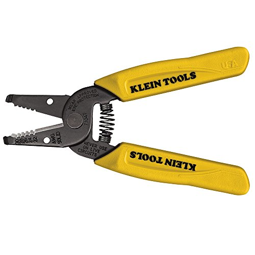 Klein Tools 11047 Wire Stripper/Cutter, 22-30 AWG Solid Wire