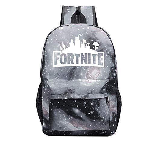 nobrand Leuchtend Schule Reise Draussen Rucksack Ideal Vielseitig Schulter Tasche Rucksack zum Männer Frau Viel von Aufbewahrungstasche (Starry Black)