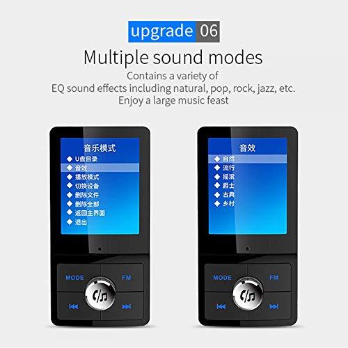 OLPvh Mp3-player nieuwe FM-zender Bluetooth Radio Car Kit met USB Car voor MP3-speler, 32GB, zwart