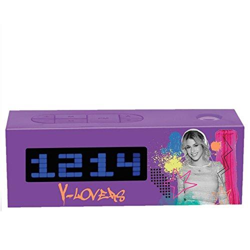Lexibook RP025VI - Violetta Radio-Projektions-Wecker