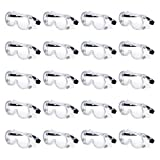 Gamma Ray Protective Anti-Fog Safety Goggle Glasses - Pack of 20
