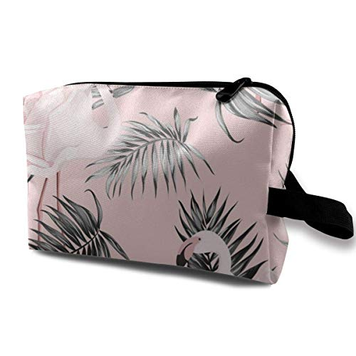 Flamingo Rose Tropical Pattern Vector de Imagen Bolsa de