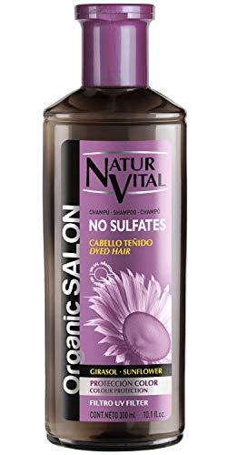 NaturVital Champú Organic Salon Sin Sulfatos Protección Color 300 ml (7052S)