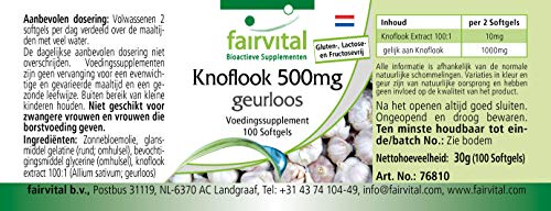 Knoblauch geruchlos 500mg 100 Softgels - 7