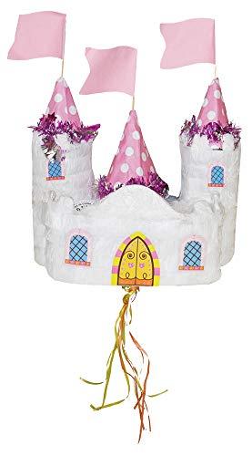 Das Kostümland Pinata - Geburtstags Dekoration - Märchen Schloss - Tolles Geschenk für Kindergeburtstag, Hochzeit oder Mottoparty