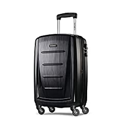 """20"""" SPINNER LUGGAGE maximizes your packing power and meets most carry-on size restrictions for those traveling domestically and looking to stay light PACKING Dimensions: 20.0"""" x 13.5"""" x 9.5"""", OVERALL Dimensions: 23.0"""" x 14.5"""" x 9.5"""", Weight: 6.7 lbs...."""