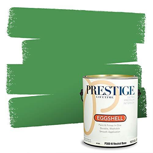 Prestige Interior Paint and Primer in One, Celtic Green, Eggshell, 1 Gallon