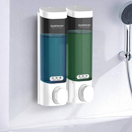 qq666 Automatischer Seifenspender , Seifenspender Einfaches Händedesinfektionsshampoo Shampoo Wandspüle Automatische Maschine Handelsschaum unter der Stufe 300ML * 2