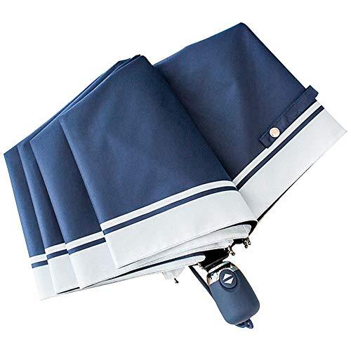 Dyrenson 日傘 折りたたみ傘 ワンタッチ自動開閉 梅雨対策 ショートパラソル 軽量 晴雨兼用 100%完全遮光 UPF50+ 99%紫外線遮蔽率 UVカット率 遮光 遮