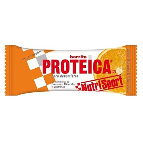 Nutrisport Barrita Proteica 24 x 46g Naranja