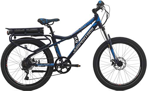 24 Zoll Kinder Elektro Fahrrad Cinzia Blaster, Farbe:blau