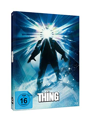 John Carpenter s THE THING #Struzan (3-Disc-Mediabook Edition) [Blu-ray]